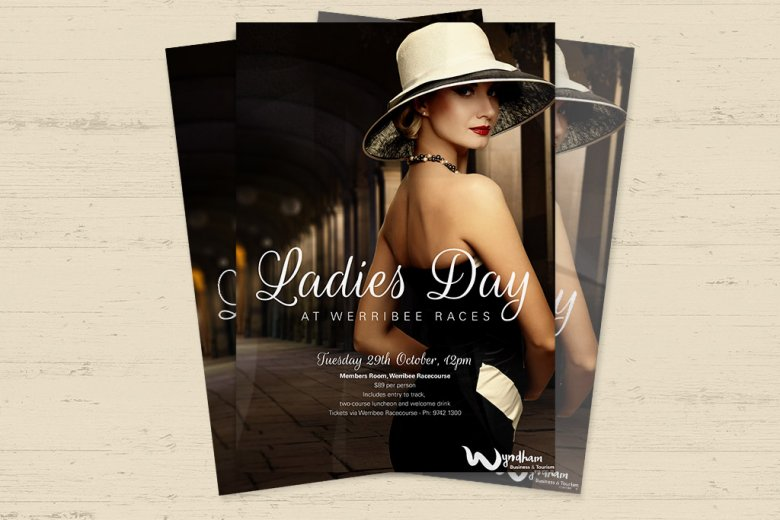 WBTA Ladies Day At Werribee Races event poster