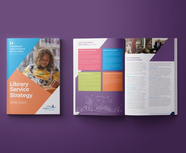 Wyndham Library Service Strategy booklet