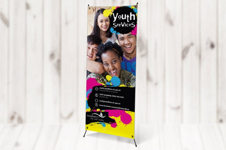 Wyndham Youth Pull-Up Banner