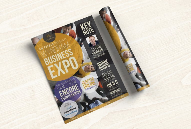 Wyndham Business Expo flyer